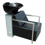 Square Base Washing Chair with Stainless Steel Shampoo Unit