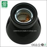 E27 Black Porcelain Lamp Holder for Europe