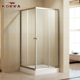 Tempered Glass Shower Enclosure with Two Sliding Doors (K-331)