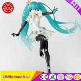 Long Hair Beautyful Girl Plastic Anime Figure Model
