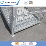 Heavy Duty Collapsible Mesh Box Warehouse Rigid Wire Mesh Pallet Box