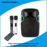 """Professional Wireless Battery 12"""" Karaoke LED Projection Speaker - Projector"""