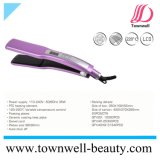 Ceramic Coating Hair Flat Iron with Wide Plates Chinese Factory Wholesale