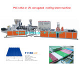 PVC Corrugated Sheet Wave Sheet Making Machine
