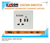 Taiwan Excon Wall Double USB Socket