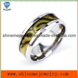 Shineme Jewelry Ring Fashion Color Shell Stainless Steel Ring (SSR2791)
