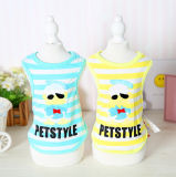 Pet Prodcuts Tang Yaya Stripe Dog Shirt Wholesale