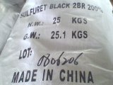 Br200% Sulphur Black for Textile Producer