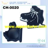 Cool Design Durable Rubber Patch 3D Skates Clog Shoes Charms