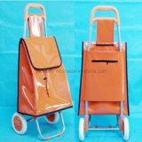 2 Wheel Store Shopping Luggage Smart Metal Supermarket Trolley Cart