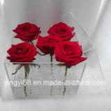 New Custom Made Clear Waterproof Acrylic Flower Box
