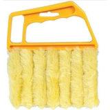 Plastic Handle 7 Layer Fuzz Fiber Sweeper Window Blind Handheld Brush Household Cleaning