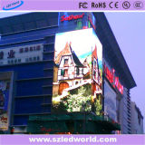 P8 Vivid Outdoor Curved Full Color LED Video Screen Display
