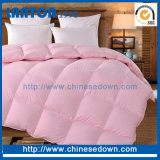 Cotton Fabric Pink Colordown Quilt /Double Face Quilt Cover