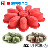 New Design Sunflower Shape Baking Mold Soap Mold Silicone Cake Mould