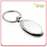 Hot Sale Oval Shape Blank Metal Key Tag