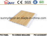 Wooden PVC Ceiling Panel Wall Panel for Home Decoration, Cielo Raso De PVC