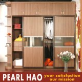 Modern Sliding Doors Bedroom Melamine Wardrobe