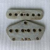 54mm Gray Color Fiber Plate Tele Bridge Pickup Flatwork