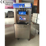 High Quality Commercial Big Capacity Stainless Steel Precooling Three Flavors Soft Serve Ice Cream Maker with Ce Approved