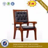 Reception Boardroom Wooden PU Conference Meeting Chair (Ns-CF025)