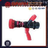 Automatic Adjustable Pistol Grip Plastic Fog Spray Fire Nozzle