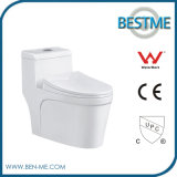 Bathroom Equipment Wc One Piece Ceramic White Toilet