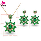 Vintage Style Women′s Gender and Gemstone Jewelry Set for Party