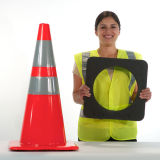 Multi Size Black Rubber Traffic Cone Base