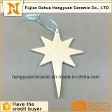 Handmade Fashion Customized Christmas Ceramic Hanging Ornament