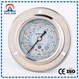 High Accuracy Pressure Gauge Stainless Steel Oil Filled Fuel Pressure Gauge