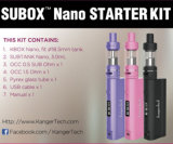 Latest 2017 Kanger Subox Nano Electronic Cigarettes From Elego Distributor
