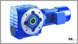 SAF Series Helical Worm Gear Motor