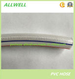 PVC Fiber Knitted Reinforced Water Irrigation Garden Hose