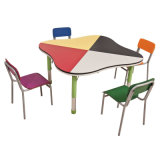 Preschool Furniture Children Writing Table and Chair for Sale (SF-39C)