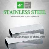 Ss201 SS304 SS316 Stainless Steel Square Pipe for Decorations