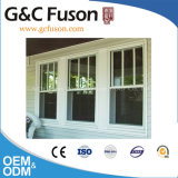 Aluminum Glass Window with Inside UPVC Blinds/Louver, Made in China