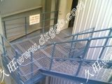 Stair Treads and Steel Ladder