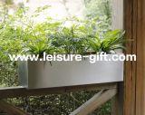Fo-9012 Stainless Steel Rectangular Window Planter