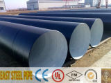 Outer 3lpe/3PE Inner Epoxy Coating Spiral Steel Pipe