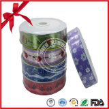 China Factory Custom Party Printed Flower Ribbon Rolls