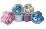 Colorful Heart-Shape PVC Paper Cases (FAXH5013S)