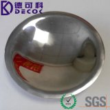 Round Stainless Steel Coated Wedding Party Disposable Plastic Dinnerware Dishes&Plate