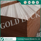 Low Price Poplar Core Imprinted Logo Laminated Film Faced Plywood Wood