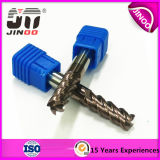 Solid Carbide End Mill for Hardened Steel