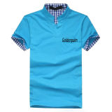 2014 New Comfortable Cotton Plain Polo Shirt
