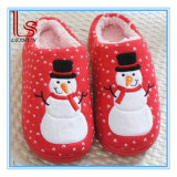 Christmas Winter Warm Cotton Household Plush Snowman Slippers Couple Slipper Shoes