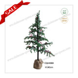 140cm Artificial Christmas Gift Craft Colorful Crystal Apple Tree
