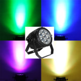 7X10W RGBW 4in1 or White CREE LED Aluminum Stage PAR Can Light