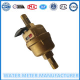 Brass Material Volumetric Water Meter Dn15mm
